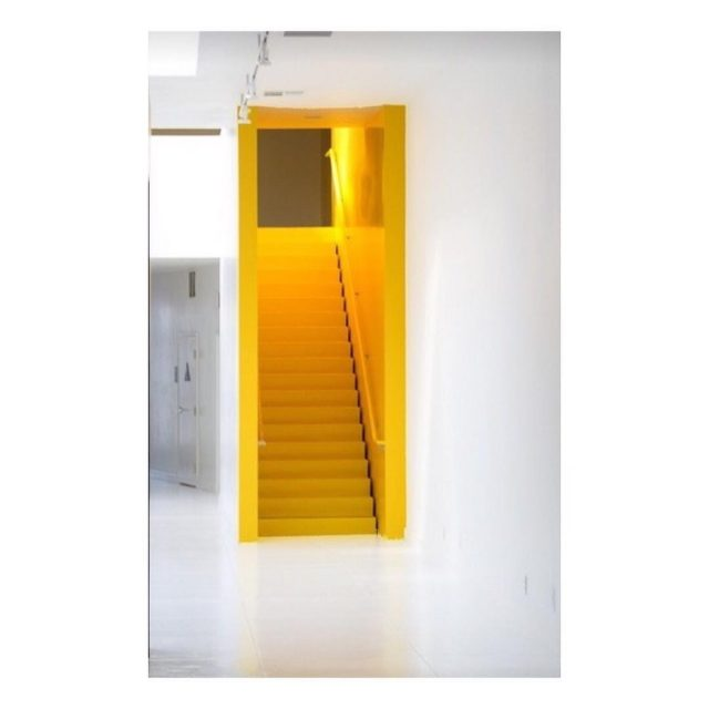 Yellow door Seen on denissewolf interior interiorinspiration yellowdoor