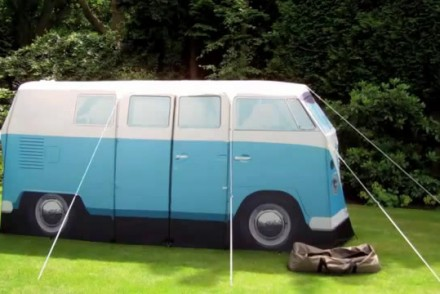 VW-T1-Camper-Van-Tent-Set-Up