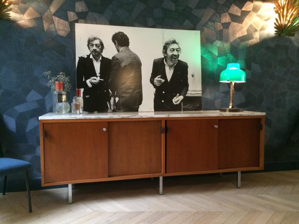 hotel henriette, paris,vintage, knoll,
