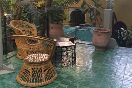 riad-city guide-marrakech-médina-le jardin-anne favier-Kamal Laftimi-restaurant