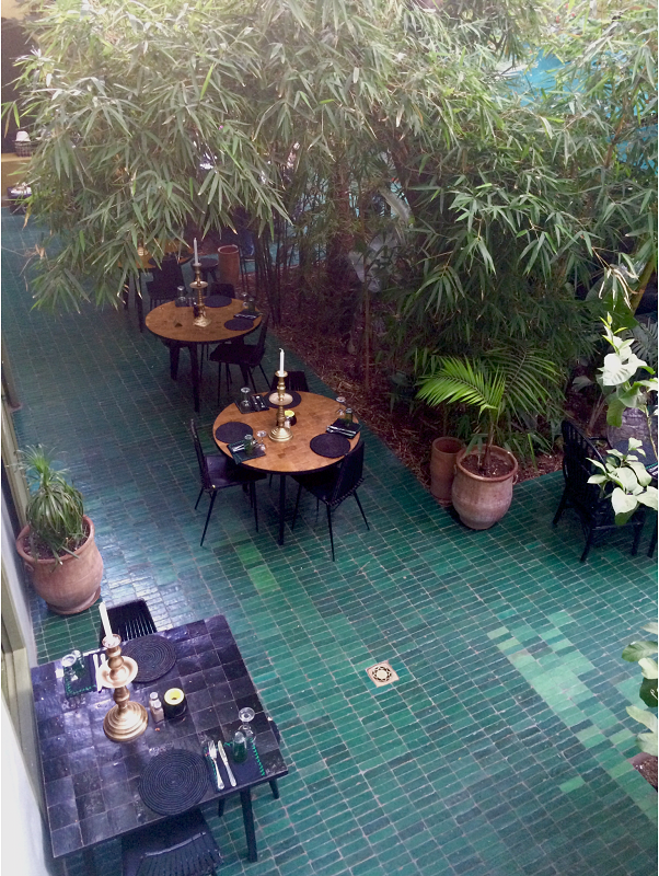 le jardin-marrakech-city guide-médina-restaurant-déco