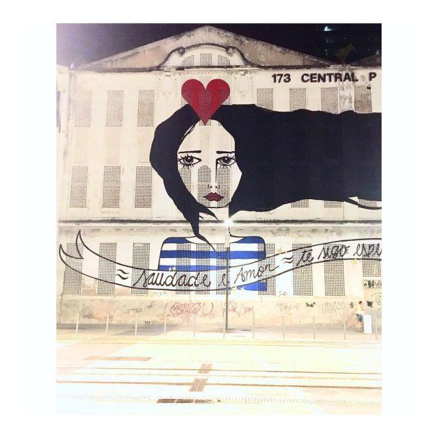 Saudade  Amor amor streetart ritawainer riodejaneiro