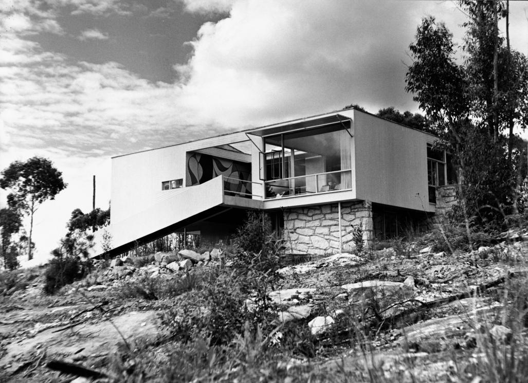 la villa rose seidler miluccia inspiration d coration et design. Black Bedroom Furniture Sets. Home Design Ideas