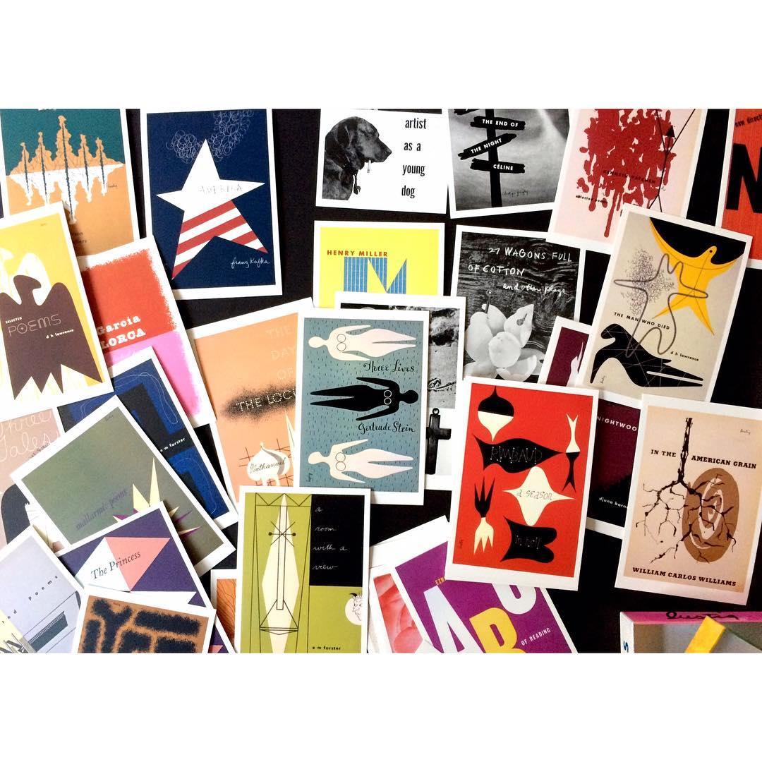 alvinlustig post card graphisme midcenturymodern