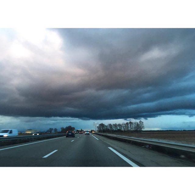 Ciel dingue ce soir sur la plaine dAlsace alsace ciel