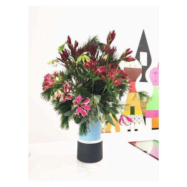 La magie des couleurs et des fleurs vitra